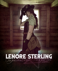 Lenore Sterling Poster by Spikeghost