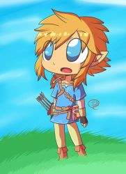 Breath of the Wild Link Fanart by PitClover