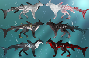 DogShark Adoptables closed by BeSSeB