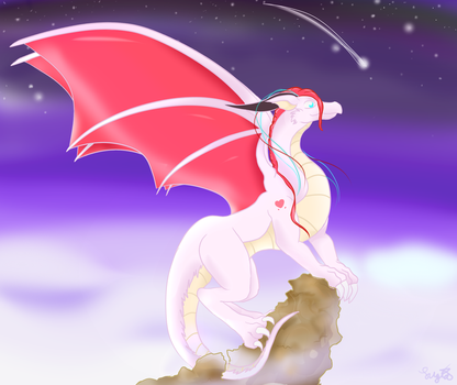 Lioren Dragon Form: Heaven's Sky by Eternalskyy