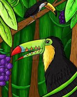 Toucan Time by JellySoupStudios