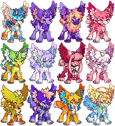 Mantibabs - Chibi Base Commissions by sparkletrash