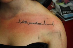 follow your heart by SimplyTattoo