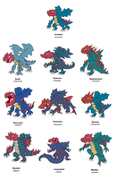 Druddigon variations