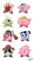 So Many Kirbys by WonderDookie