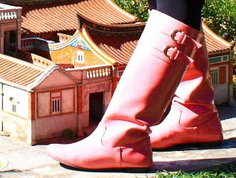 Pink boots giantess original file 53 by boysgts