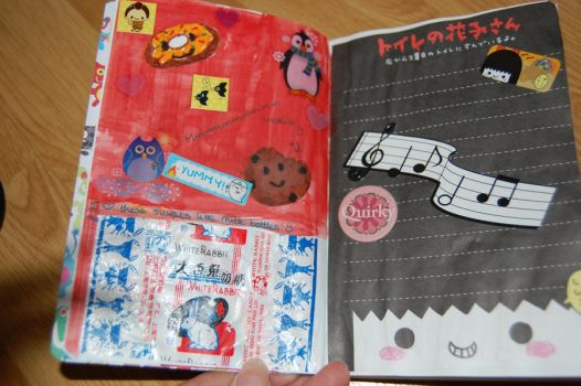 Kawaii Mini Journal Page 3+4 by hannahakaskatergirl