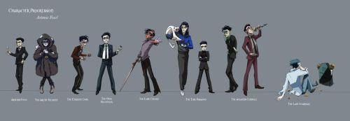 Artemis Fowl Progression by iesnoth