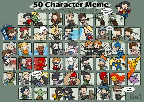 50 character meme by DeanGrayson