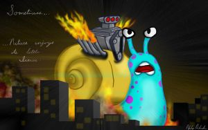 Snail on Speed by CaptainArD