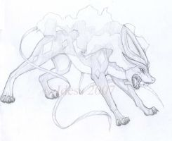 Suicune by Idess