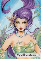 Spellcasters II Sketch Card - Collette Turner 2 by Pernastudios