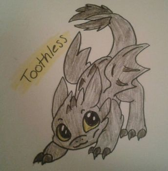 Toothless!! by theholywolf