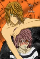 Matt x Mello by YumeSamasLover