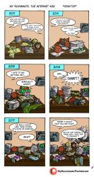 My Roommate, The Internet #36: Desktop by magusVroth