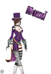 Moxxi - Bordelands 2 by LadyChama