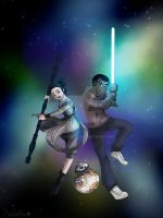Heroes! (Star Wars: The force awakens) by Sailorfrix