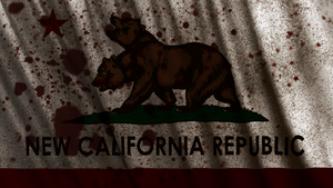 Fallout: New California Republic Flag Wallpaper by Birdie94jb