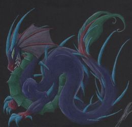 Water Drake by Draconic-Goth