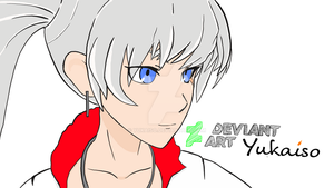 FanART Final: Weiss Schnee from RWBY by Yukaiso