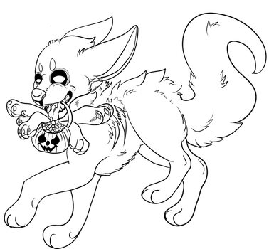 Free Halloween Pose by KaylaCreatures