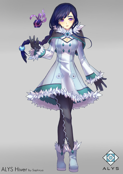 VoxWave ALYS OFFICIAL : Hiver by Saphirya