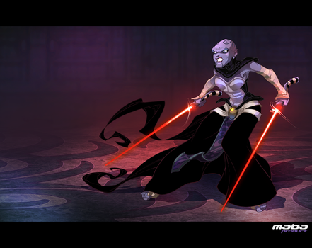 The Dathomirian Dark Jedi Asajj Ventress by MabaProduct