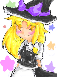 Marisa Kirisame by HappehCakes