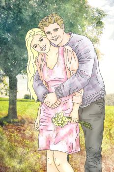 teddy and victoire by x8xdanix6x