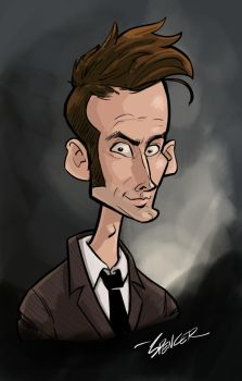 10th Doctor by spencertoons