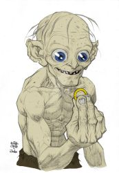 Wip 1 Gollum by Plugin848y