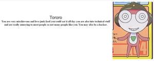 I Got Tororo On A Quize by Noulin123