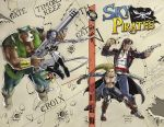 Issue 1 Sky Pirates by evnsue96