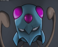 Tentacool by Totodile-with-Fries
