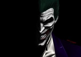The Joker by staticXshadows