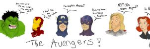The Avengers by NeonDuctTape
