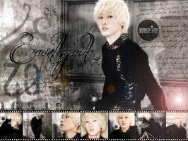 Super Junior 2012 calendar Eunhyuk by ForeverK-PoPFan
