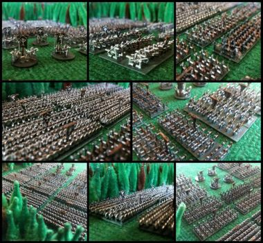 6mm Army of Gondor by Spielorjh