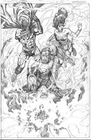 Convergence #7 pg1 Unpublished by aaronlopresti