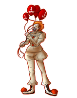 Pennywise the dancing clown by Skelwolf