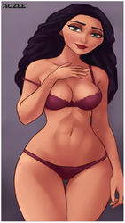 Mother Gothel - Are You Just Gonna Stand There? by Aozee