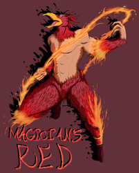 Magician's Red by Bloodedskull19
