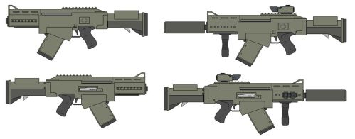 C-36C Sub-Assault Rifle by The-SKA-King