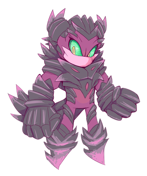 Chip the Strong (Crystalline Form) by Cylent-Nite