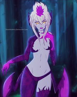 Evelynn - League Of Legends by Doominatrix