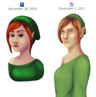 2017 improvement challenge - Elf by icaunis1