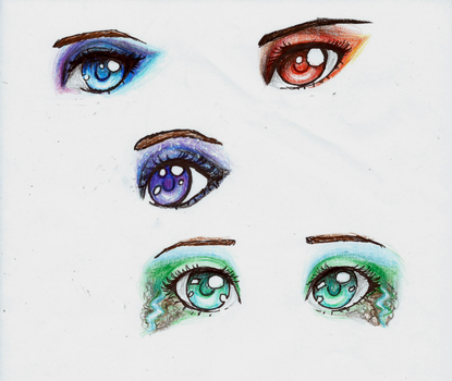 Eyes by L-L-arts