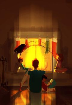 Fireplace season!!! by PascalCampion