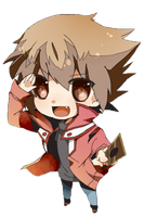Chibi Judai Render by xXJudaiSamaXx