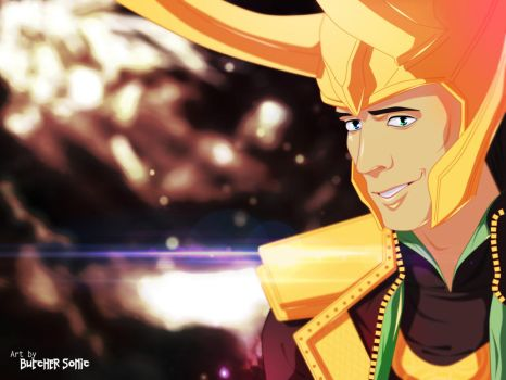 Loki for XipKseny by ButcherSonic
